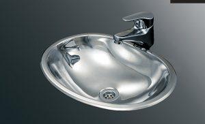 Bacha Acero Johnson Baly OV 370L Baño Vanitory Marmoleria Giacomo Portaro