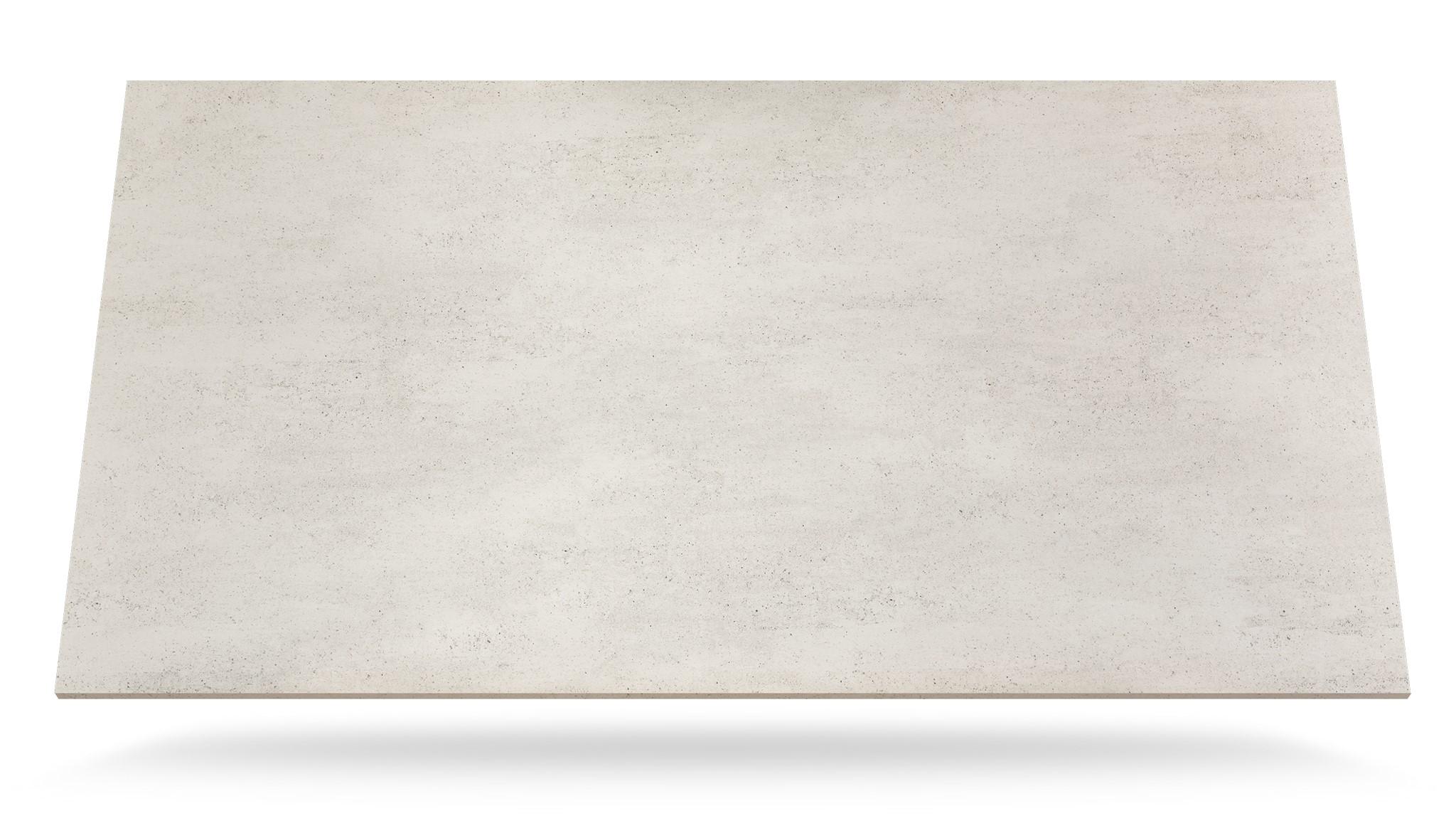 Dekton Blanc Concrete Marmolería Portaro Rosario tabla 3d