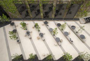 Dekton Blanc concrete Tech Collection Marmoleria Portaro Rosario