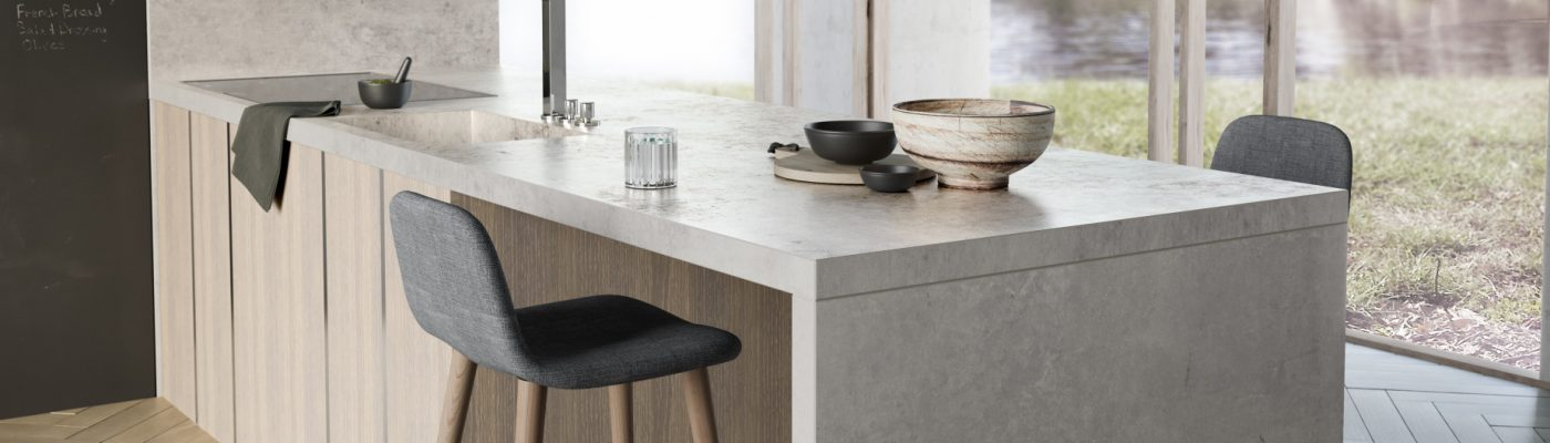Dekton Kreta Industrial Collection Marmoleria Portaro Rosario