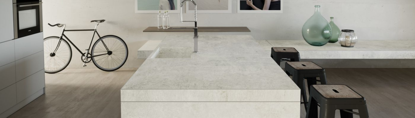 Dekton Lunar Industrial Collection Marmoleria Portaro Rosario